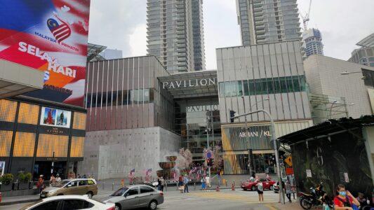 マレーシアのショッピングモール