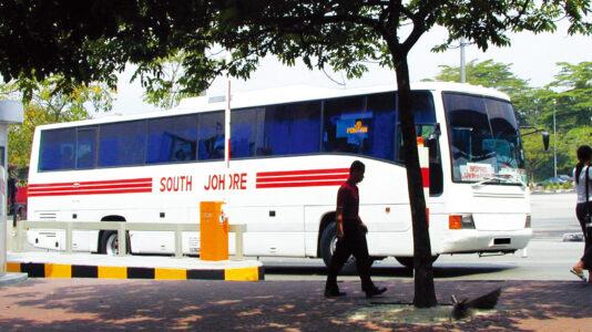 ジョホールバルを走る公共交通機関